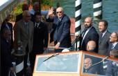 Venezia 71: arrivato Napolitano
