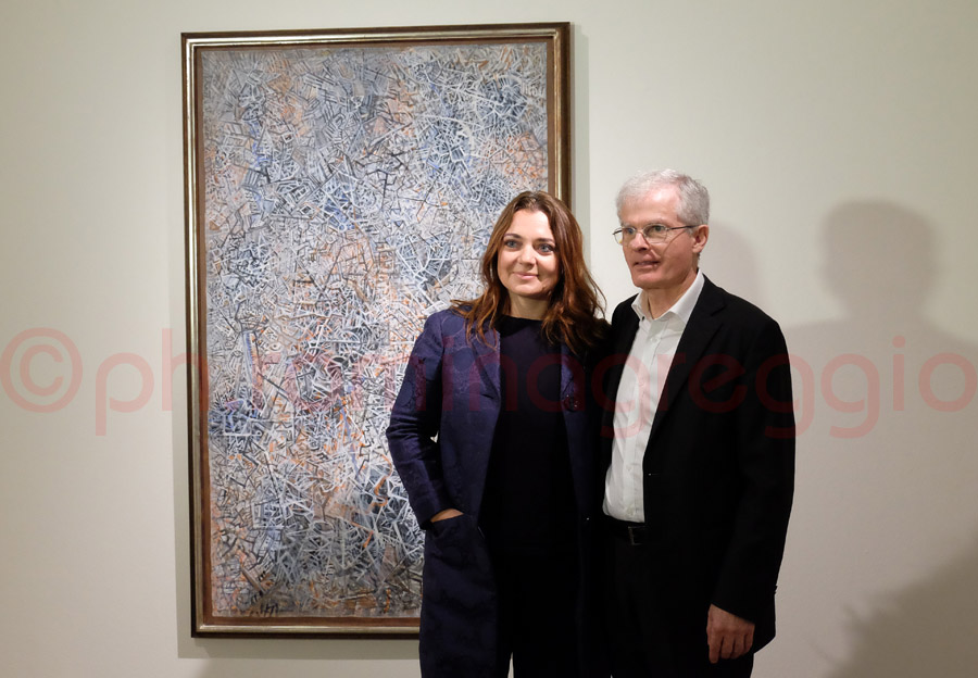 Francesca Lavazza e Philip Rylands