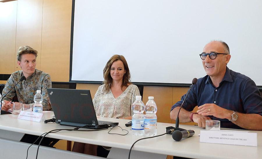 Dennis Curtis Direttore Casa dei TreOci Venezia, presenta la mostra