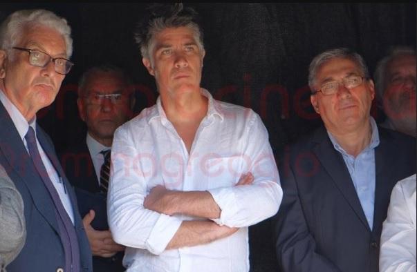 Il Direttore Alejandro Aravena e il Presidente Paolo Baratta