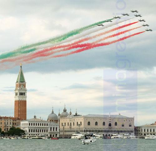 Frecce Tricolori - Venezia ph rominagreggio s