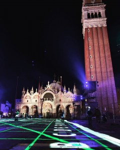 Playstation 5 #PS5 in Piazza San Marco a Venezia